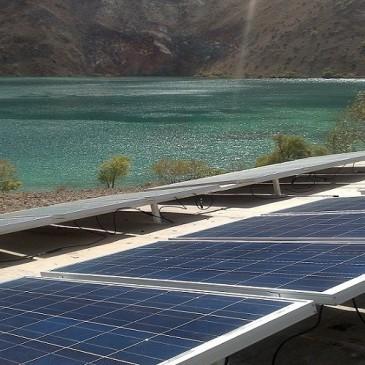 Establishing Two Solar Power Plant in Gahr Lake