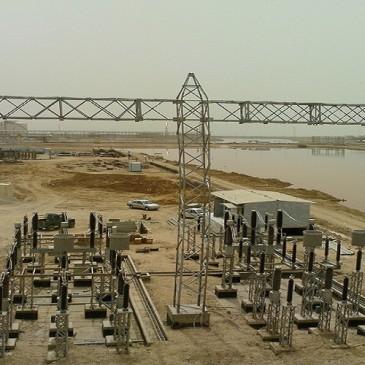 Establishing 132/33 KV Petrochemical Power Station of Fajr, Mahshahr City